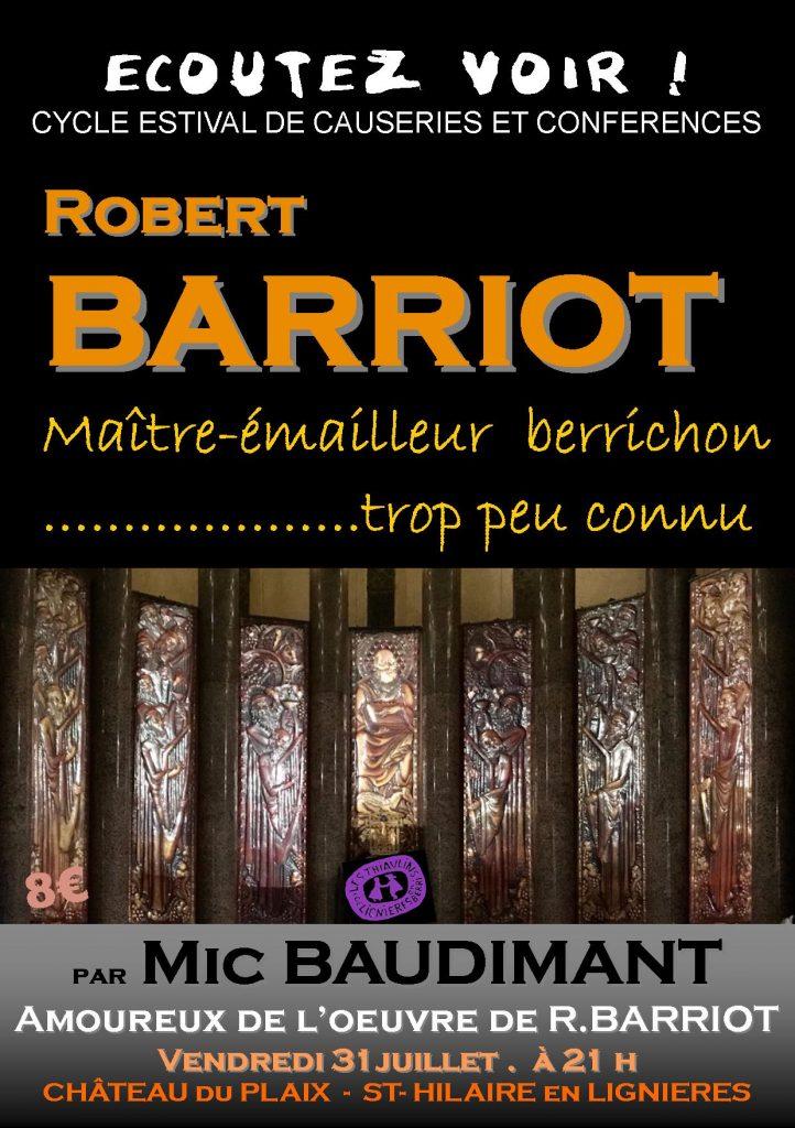 Robert BARRIOT par Mic