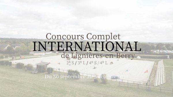 Le Concours Complet International, c'est cette semaine !