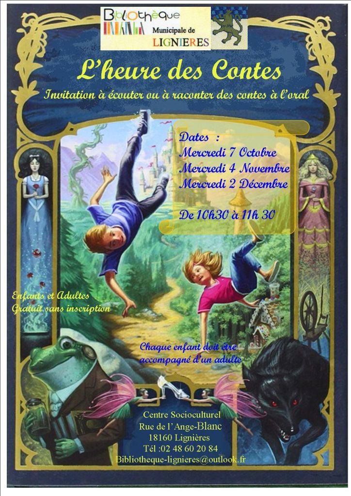 L'heure des contes à Lignières