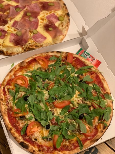 Duo pizza