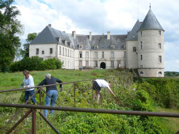 Château de Châteauneuf-sur-Cher