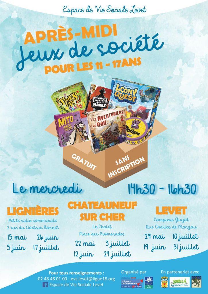 jeux-de-societe-levet-chateauneuf-lignieres-espace-de-vie-sociale