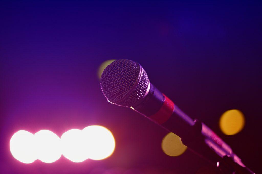 karaoke—micro—chanson