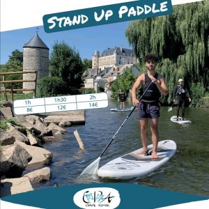 stand up paddle chateauneuf